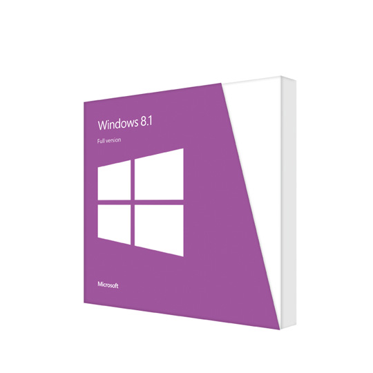 Windows 8.1 32-Bit English International 1pk DSP OEM DVD (WN7-00658)