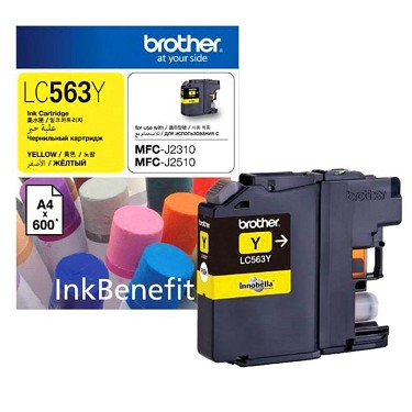 Brother Ink for MFC-J2310/J2510/J3520/J3720 ( Vàng )