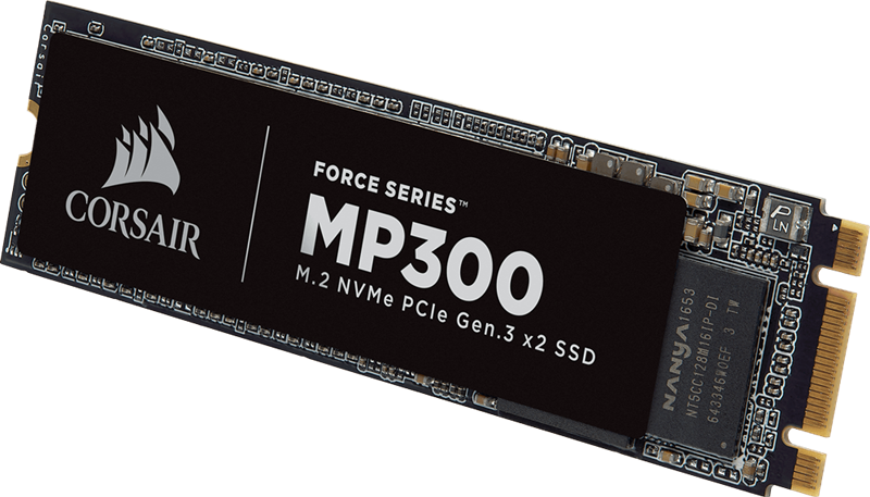 SSD Corsair Force MP300 120GB M.2 PCIe NVMe - F120GBMP300 _1118KT
