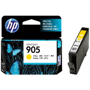 HP 905 Yellow Original Ink Cartridge (T6L97AA) EL
