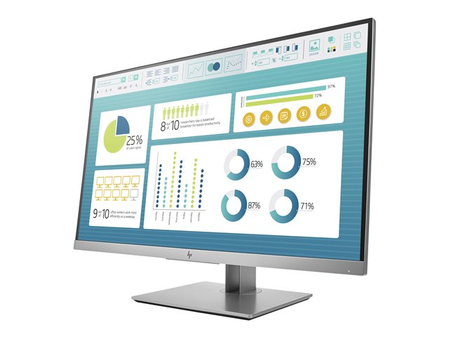 LCD HP EliteDisplay E273 (1FH50AA) 27 inch Monitor Full HD IPS (1920 x 1080) Anti Glare _DisplayPort _HDMI _VGA _219EL