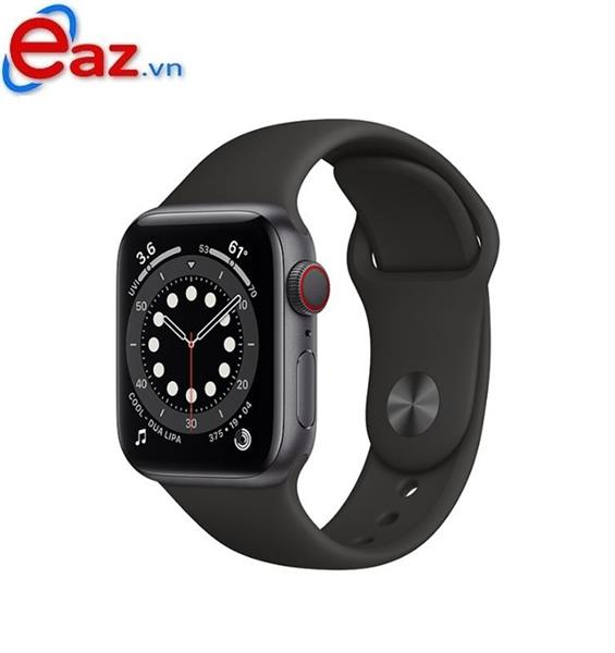 Apple Watch Series 6 GPS + Cellular 40mm M06P3VN/A Space Gray Aluminium Case with Black Sport Band | 1120D