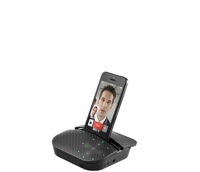 Logitech Mobile Speakerphone P710e for Hands Free Calls (980-000741) 2817SP