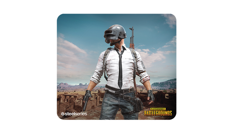 SteelSeries QcK+ PUBG Erangel Edition Gaming Mouse Pad (63807/63808) _1118KT