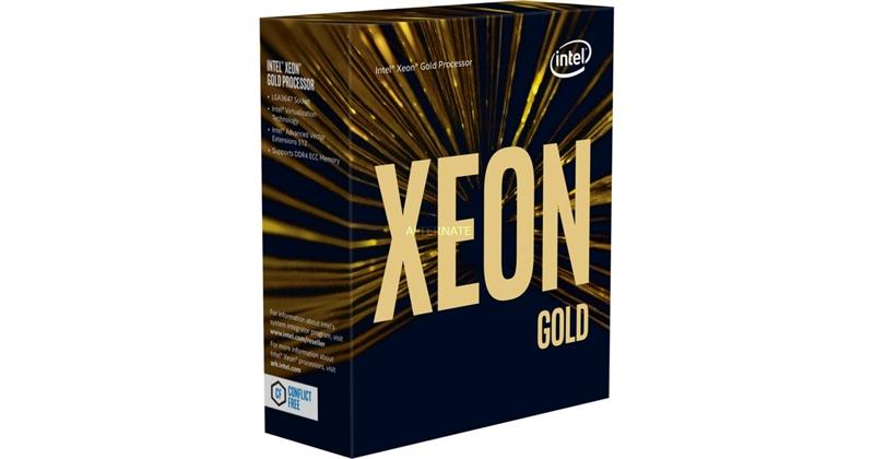 CPU Intel Xeon Gold 6154 3.00GHz / 24.75MB / 18 Cores, 36 Threads / Socket P (LGA3647) (Intel Xeon Scalable) _1118P