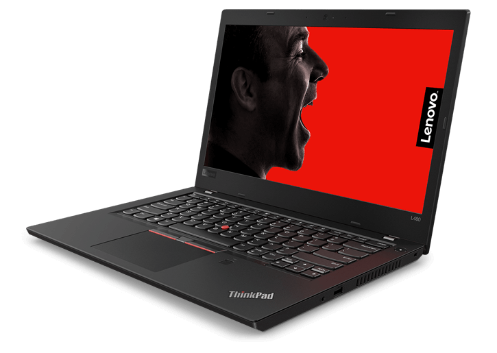 Lenovo ThinkPad L480 (20LSS01200) Intel® Core™ i5 _8250U _4GB _1TB _VGA INTEL _Finger _LED KEY _418D