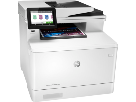 Máy In HP Color Laserjet Pro MFP M479fdw (W1A80A) _0320EL