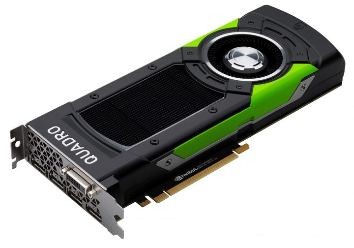 NVIDIA Quadro P6000 24GB Graphics (Z0B12AA) 618EL