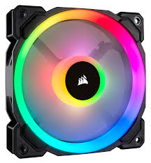 Quạt Corsair LL120 RGB 120mm Dual Light Loop RGB LED PWM Fan — Single Pack (CO-9050071-WW) _919KT
