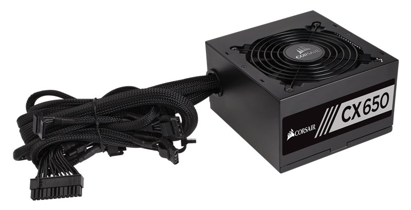 Corsair ™ CX650 — 650 Watt 80 PLUS® Bronze Certified ATX PSU (CP-9020122-NA) _919KT
