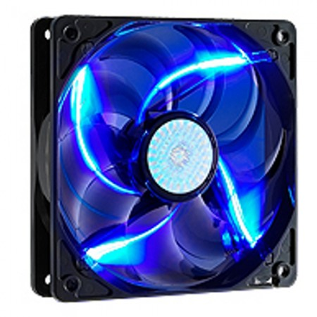 FAN CASE MÀU 12CM LED SILENT