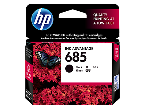 HP 685 Magenta Ink Cartridge (CZ123AA) EL