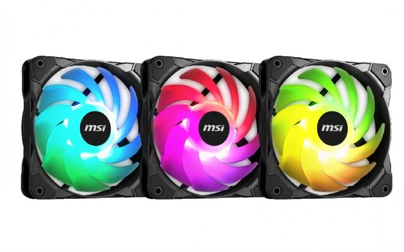 MSI Rainbow Fan Pack (3 Fan) _919KT