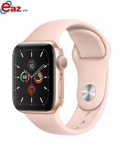 Apple Watch SE GPS 40mm MYDN2VN/A Gold Aluminium Case with Pink Sand Sport Band | 1120D