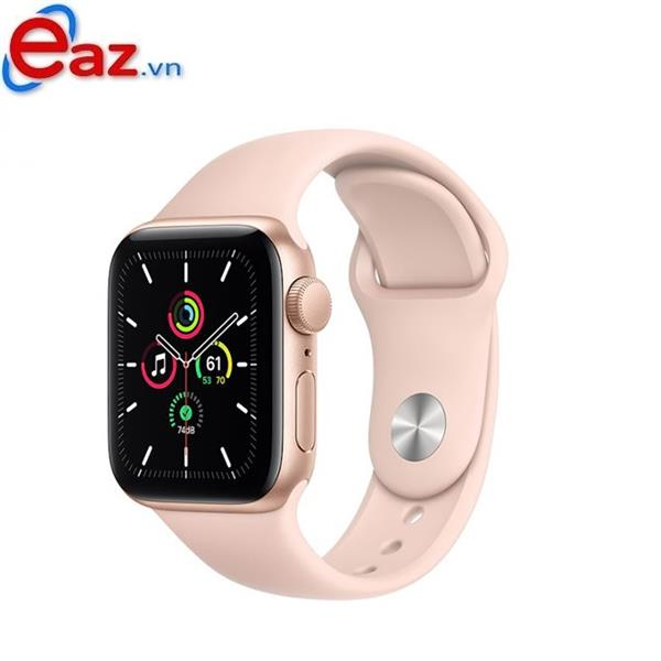 Apple Watch SE GPS 44mm MYDR2VN/A Gold Aluminium Case with Pink Sand Sport Band | 1120D