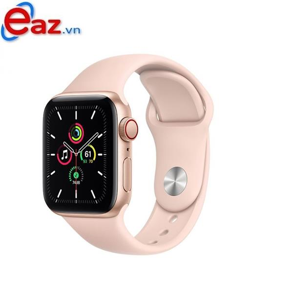 Apple Watch SE GPS + Cellular 40mm MYEH2VN/A Gold Aluminium Case with Pink Sand Sport Band | 1120D