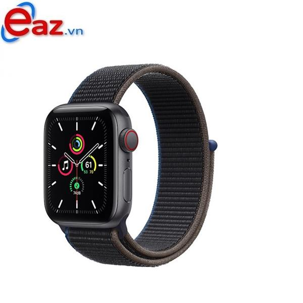 Apple Watch SE GPS + Cellular 40mm MYEL2VN/A Space Gray Aluminium Case with Charcoal Sport Loop | 1120D