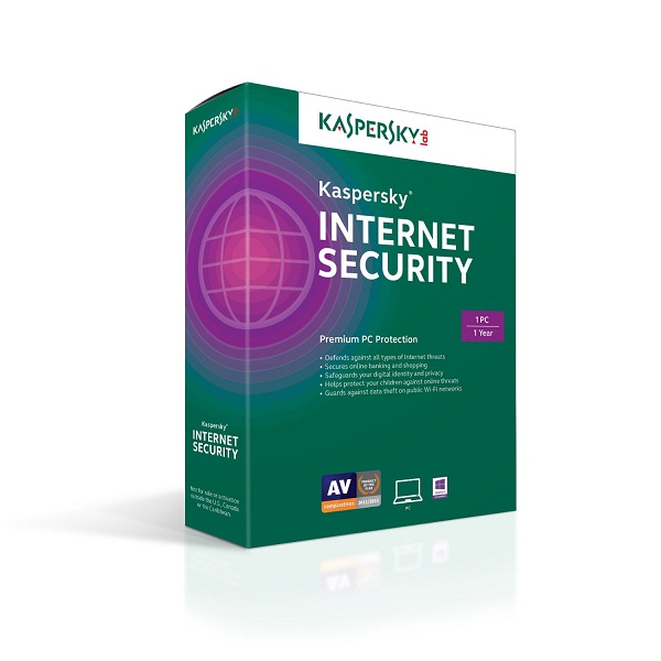 Kaspersky Internet Security 2020 1PC / 1 Year
