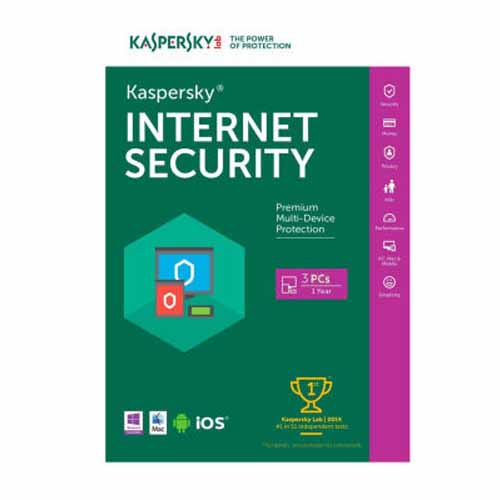 Kaspersky Internet Security 2020 3PC / 1 Year