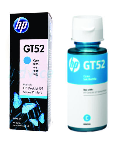 HP GT52 Cyan Original Ink Bottle M0H54AA 618EL
